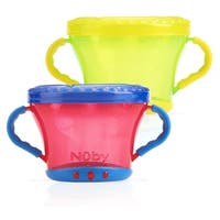 Nuby Snack Keepers - 2 Count - Red/Green - Red