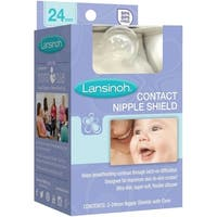 Lansinoh Contact Nipple Shields - 2 Pack - Clear