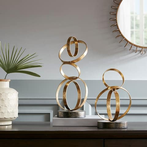 Madison Park Anelli Gold Ring Tabletop Decor