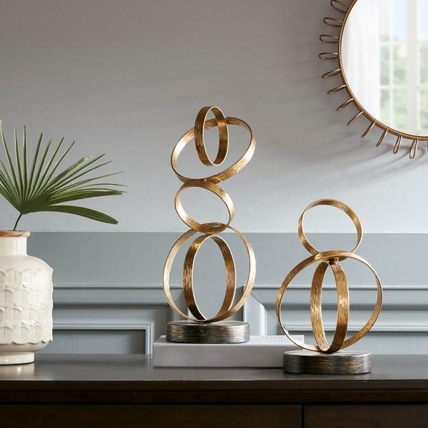 Shop madison park anelli gold ring tabletop decor on sale free madison park anelli gold ring tabletop decor junglespirit Images