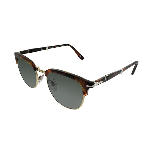 2640f7be58f65 Persol Square PO 3132S Foldable 108 58 Unisex Caffe  x27  Frame Green  Polarized