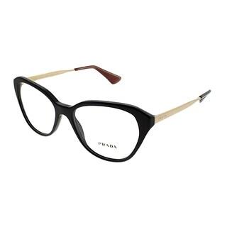 Prada Cat-Eye PR 28SV Cinema DHO1O1 Women Brown Frame Eyeglasses