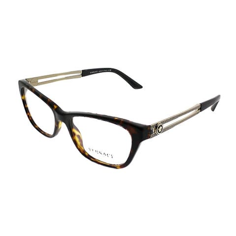 Versace Cat-Eye VE 3220 108 Women Marc Frame Eyeglasses