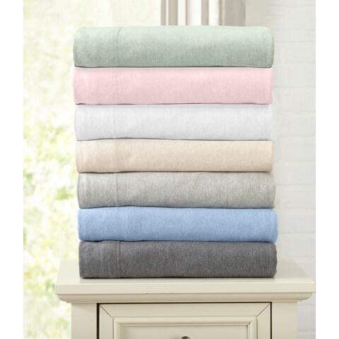 Carmen Collection Extra Soft Heather Jersey Knit Sheet Set