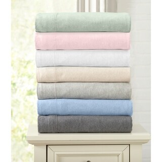 Carmen Collection Extra Soft Heather Jersey Knit Sheet Set