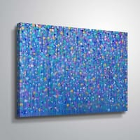 ArtWall Helen Joynson 'Party of Colour' Gallery Wrapped Canvas - Multicolored