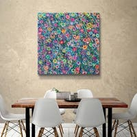 ArtWall Helen Joynson 'Energy of Happiness' Gallery Wrapped Canvas - Multicolored