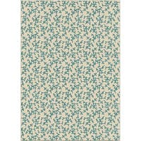 """Coral Linen Area Rug by Orian Rugs - 7'8"""" x 10'10"""""""
