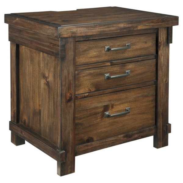 Carbon Loft Jacinto Brown Nightstand