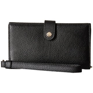 COACH Polished Pebble Phone Wristlet