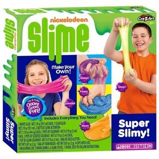 Cra-Z-Art Cra-Z-Slime Nickleodeon Make Your Own Super Slimy Slime Kit