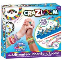 Cra-Z-Art Cra-Z-Loom Ultimate Rubber Band Bracelet Maker Kit