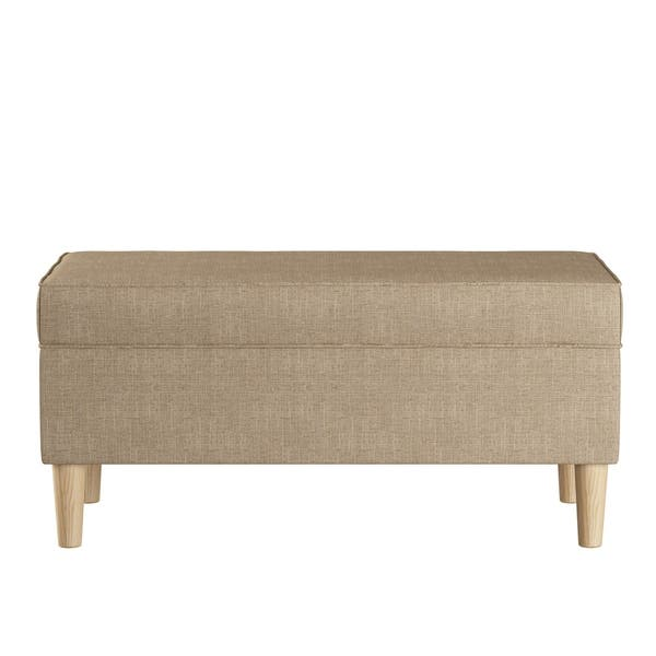 Astounding Shop Skyline Furniture Storage Bench In Zuma N A Free Spiritservingveterans Wood Chair Design Ideas Spiritservingveteransorg