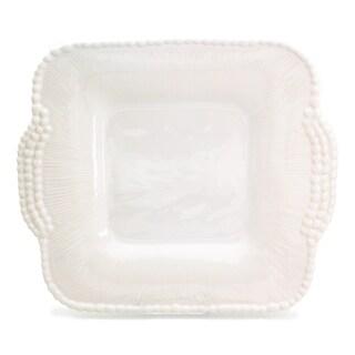Euro Ceramica Sarar Square Platter with Handles