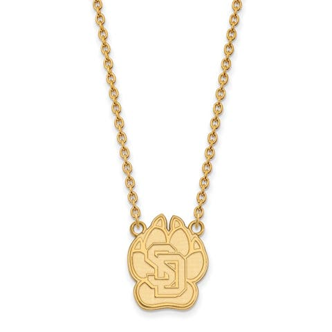 Buy 14k Gold Over Silver Necklaces Online at Overstock | Our