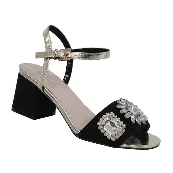 a404f56bf5f2a2 Shop YOKI-ALLYSA women s diamond ankle strap heel - Free Shipping On ...