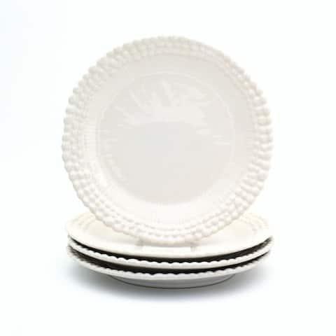 Euro Ceramica Sarar Salad Plates, Set of 4
