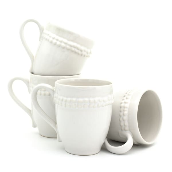 Euro Ceramica Sarar Mugs, Set of 4
