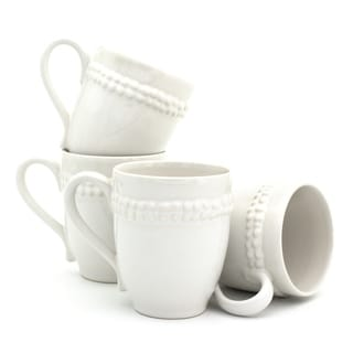 Euro Ceramica Sarar Mugs, Set of 4