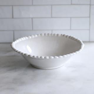 Style Mid Century Modern Euro Ceramica Sarar Pasta Bowl