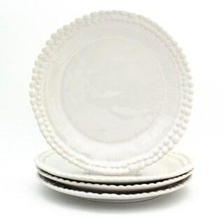 Euro Ceramica Sarar Dinner Plates, Set of 4