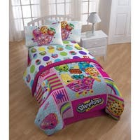 Shopkins Patchwork 3 Piece Twin Sheet Set
