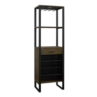 Avenue Greene Thompson Bar Cabinet with Wine Storage - N/A