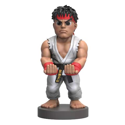 """Exquisite Gaming Cable Guy Controller & Phone Holder - Classic Streetfighter V Ryu 8"""""""