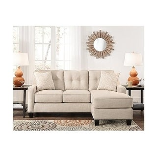 Shop Benchcraft By Ashley Aldie Sand Nuvella Chaise Sofa