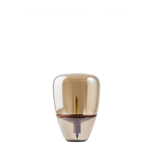 Modern Glass Globe Table Lamp