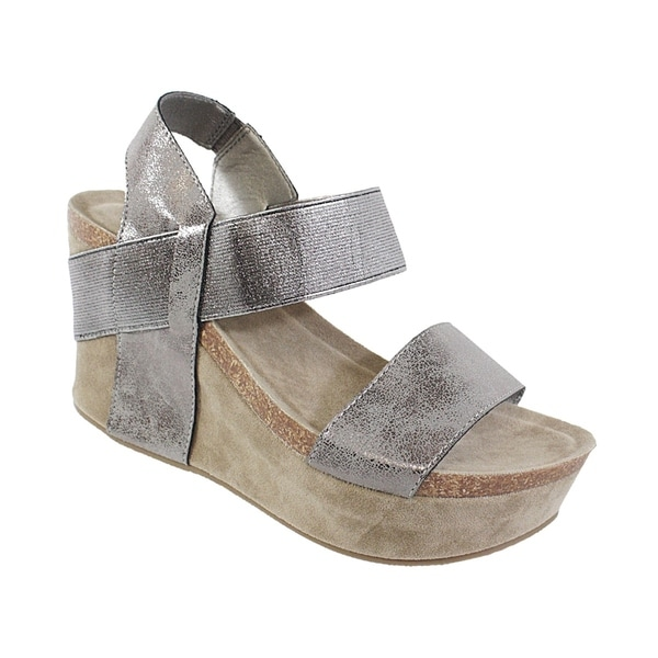 5680d24e3927 Shop YOKI-HESTRY-women s strap footbed wedge - Free Shipping On ...