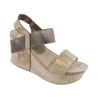 YOKI-HESTRY-women's strap footbed wedge (More options available)