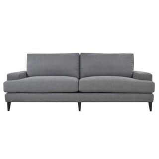 Brighton Sofa Dark Gray by Kosas Home - 34hx90wx39d
