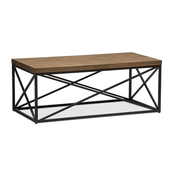 Bronze Industrial Coffee Table: Shop Urban Designs Holden Vintage Industrial Antique