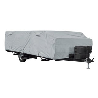 Classic Accessories OverDrive PermaPRO Folding Camping Trailer Cover, Fits 14' - 16'L Trailers