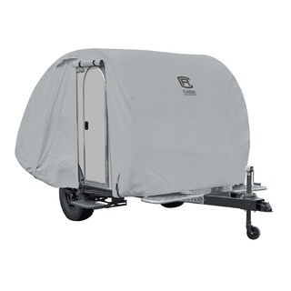 Classic Accessories OverDrive PermaPRO Teardrop Trailer Cover, Fits up to 8'L x 5'W Trailers