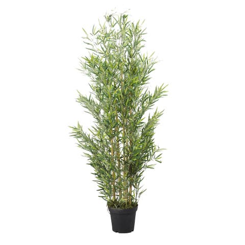 D&W Silks 6-feet Bamboo Tree