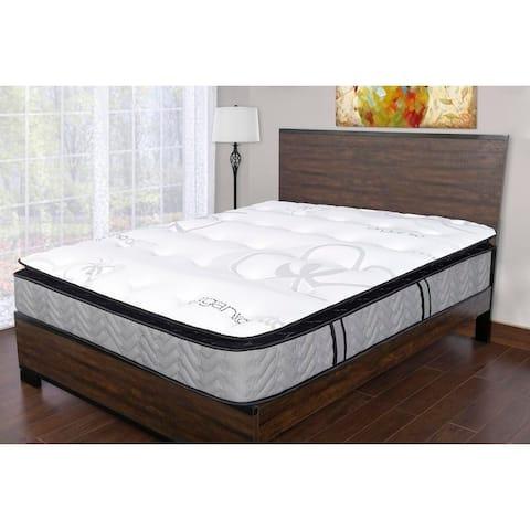 Sleep Therapy Natual Medium Plush Memory Foam Mattress, Twin