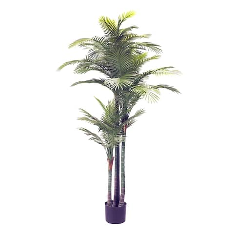 D&W Silks 7-feet Palm Tree