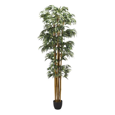 D&W Silks 8-feet Bamboo Tree