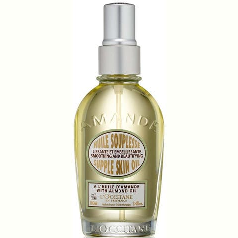 L'Occitane Amande 3.3-ounce Supple Skin Oil
