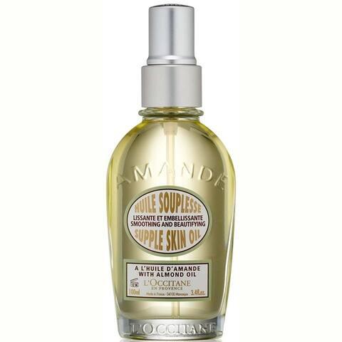 L'Occitane Amande 3.3-ounce Supple Skin Oil
