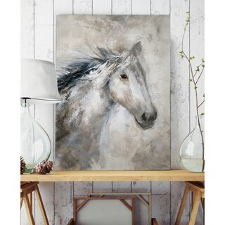 Neutral Horse - Premium Gallery Wrapped Canvas