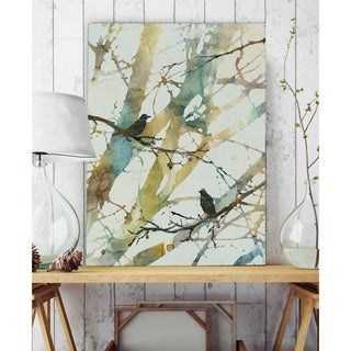 Botanical Birds II - Premium Gallery Wrapped Canvas