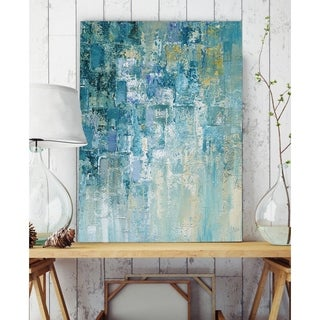 I Love the Rain Detail II - Premium Gallery Wrapped Canvas