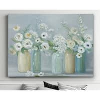 Blooming Meadow Beauties - Premium Gallery Wrapped Canvas