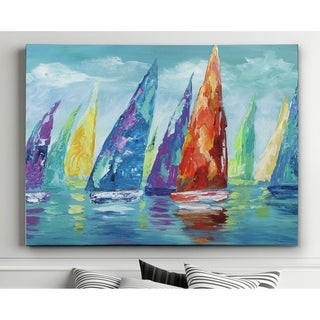 Fine Day Sailing II - Premium Gallery Wrapped Canvas