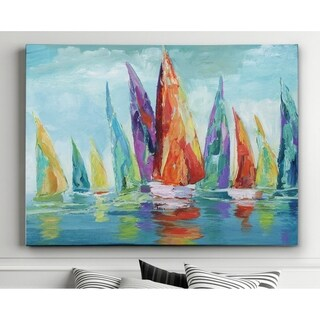 Fine Day Sailing I - Premium Gallery Wrapped Canvas