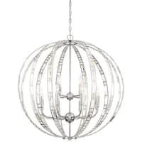 Minka Lavery Palermo 12-light Chrome and Crystal Pendant