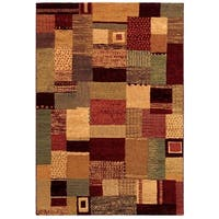 "Couristan Easton Maribel Mustard-Multi Area Rug - 9'2"" x 12'5"""